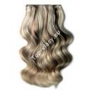 clip in vlasy - Melírované 9/613 DeLuxe XXL sady