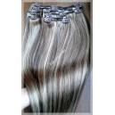 Clip in vlasy Melírované 9/613 Maxi sady