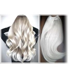 Clip in Ledové blond Maxi Dvojité 2in1 vlasy