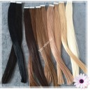 Tape  In vlasy 65 cm /Double Drawn! Salon Remy AAA / 100 gram