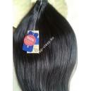 Clip in vlasy - přírodní černé -  DeLuxe XXL sady