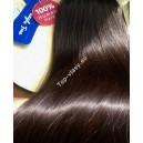 Středně hnědé Maxi Dvojité 2in1 vlasy