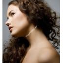 Středně hnědé clip in kudrnaté vlasy